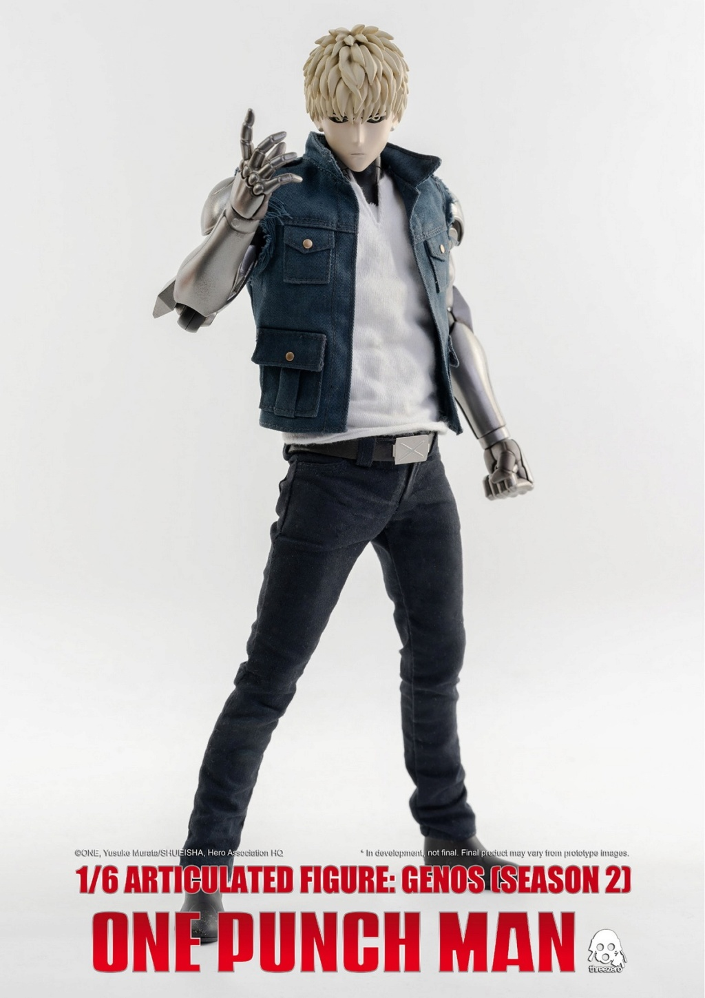sci-fi - NEW PRODUCT:  ThreeZero: 1/6 Season One Punch-Genos 2.0 Standard & Deluxe Edition 15172410