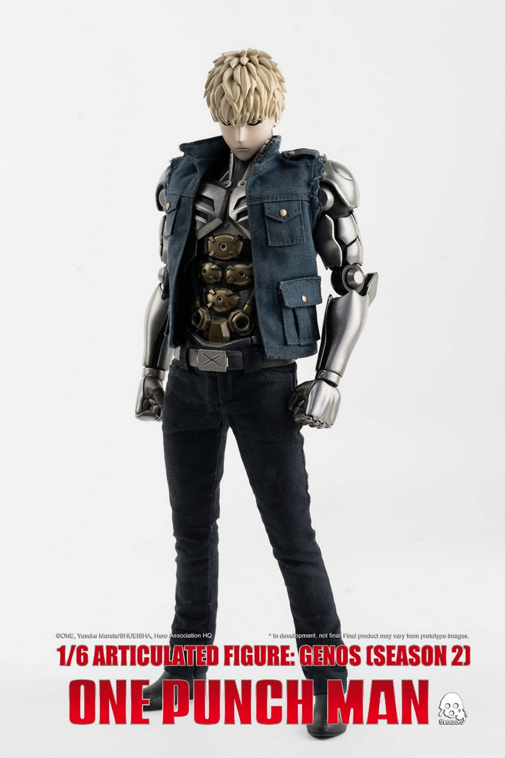 sci-fi - NEW PRODUCT:  ThreeZero: 1/6 Season One Punch-Genos 2.0 Standard & Deluxe Edition 15172710