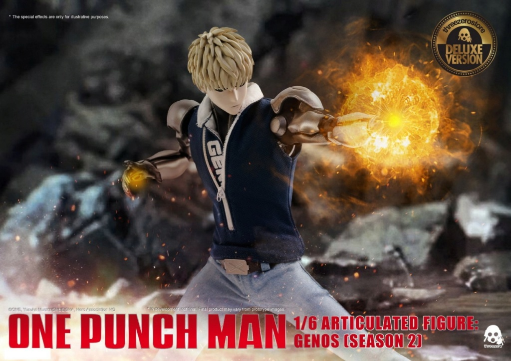 sci-fi - NEW PRODUCT:  ThreeZero: 1/6 Season One Punch-Genos 2.0 Standard & Deluxe Edition 15172910