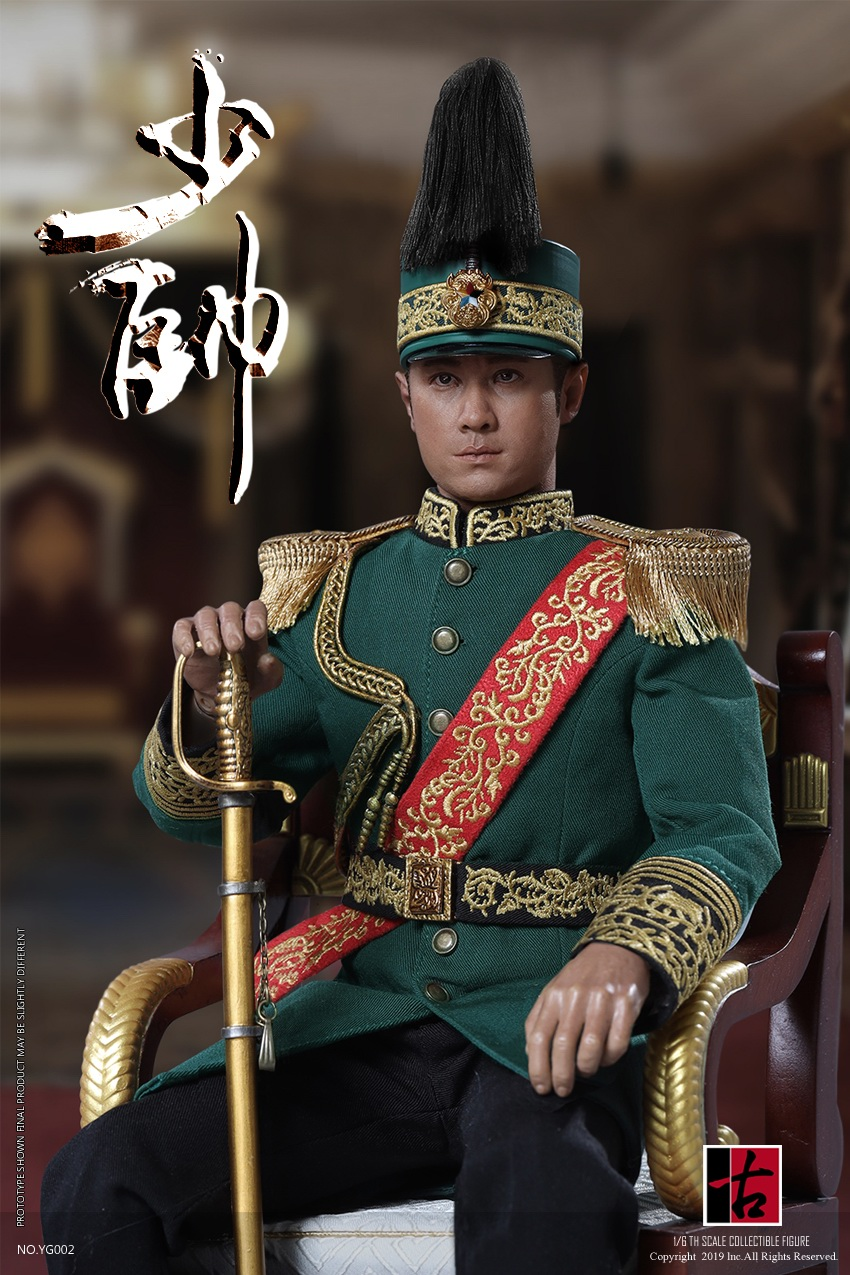 military - NEW PRODUCT: Reading Ancient Hall: 1/6 Half Wall Wolf Smoke - Shaoshuai Moveable Doll - Standard & Deluxe Edition 15173710