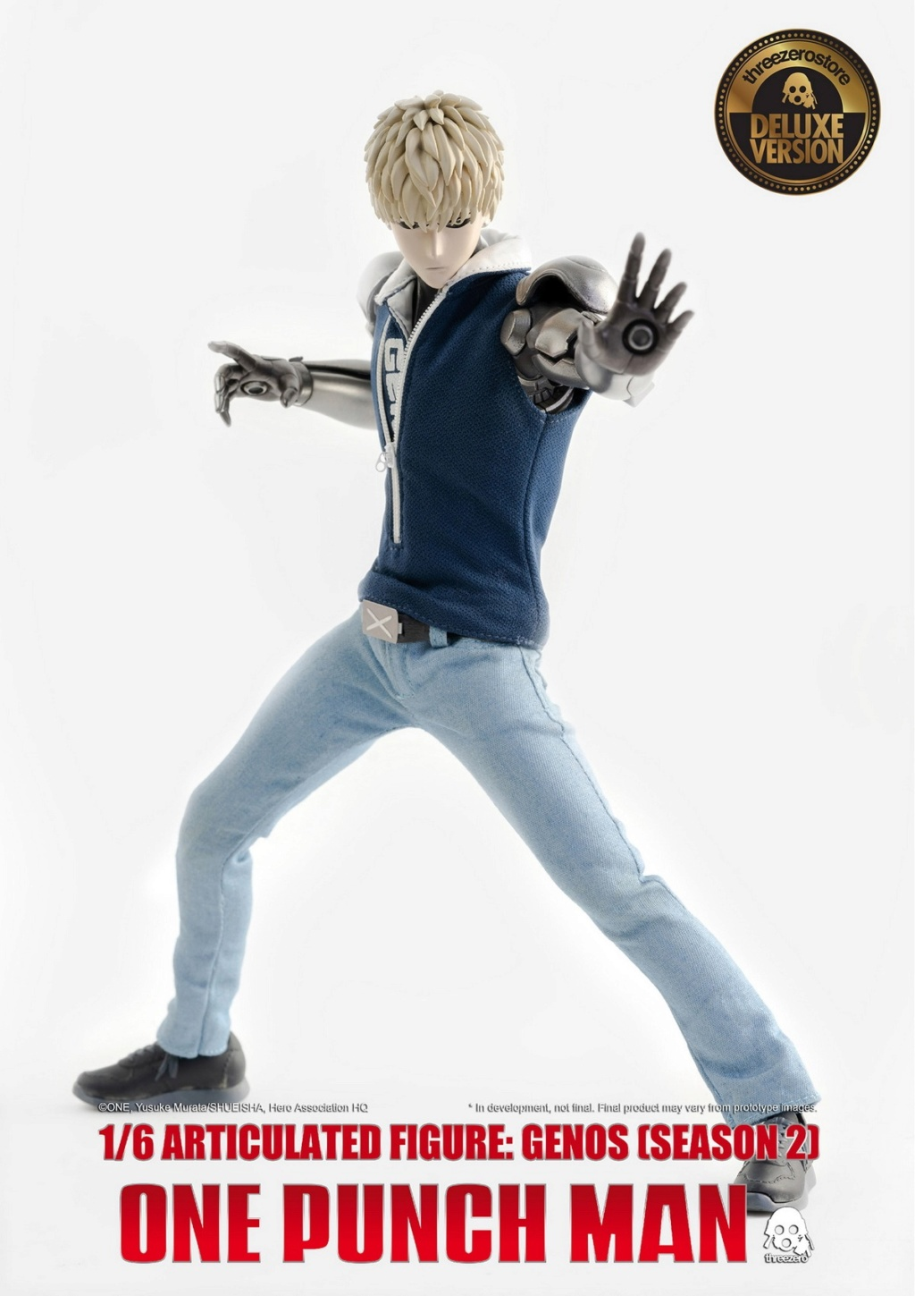 sci-fi - NEW PRODUCT:  ThreeZero: 1/6 Season One Punch-Genos 2.0 Standard & Deluxe Edition 15173711