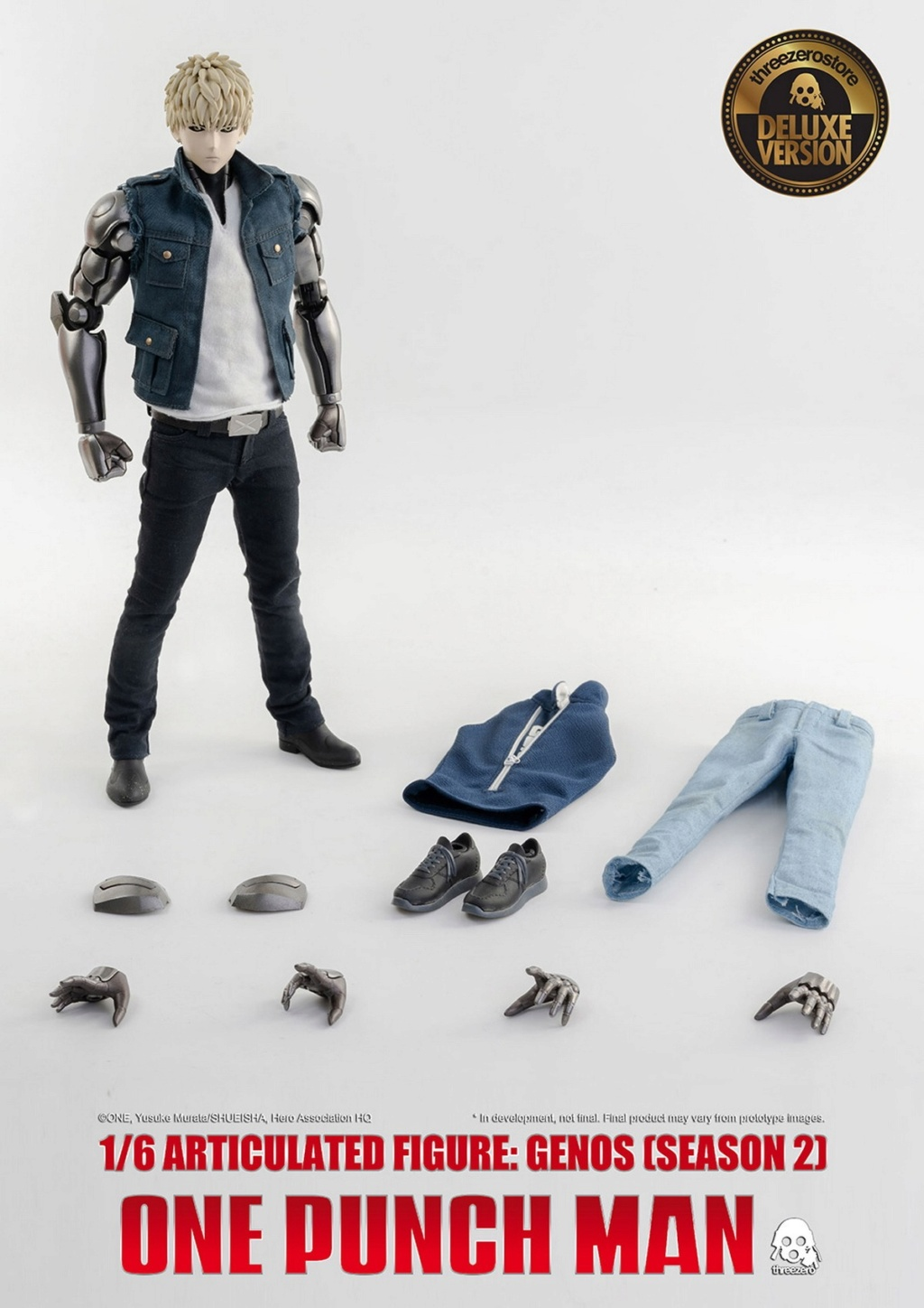 sci-fi - NEW PRODUCT:  ThreeZero: 1/6 Season One Punch-Genos 2.0 Standard & Deluxe Edition 15174510