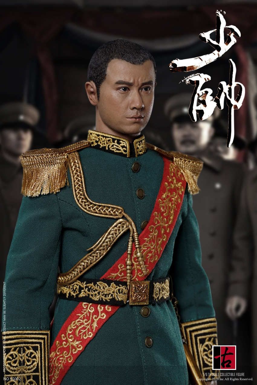 military - NEW PRODUCT: Reading Ancient Hall: 1/6 Half Wall Wolf Smoke - Shaoshuai Moveable Doll - Standard & Deluxe Edition 15180510