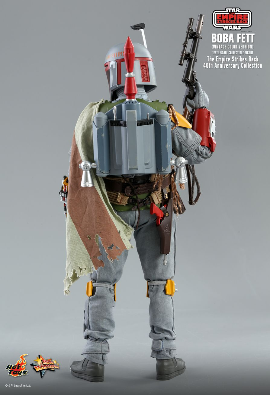 sci-fi - NEW PRODUCT: HOT TOYS: STAR WARS: THE EMPIRE STRIKES BACK™ BOBA FETT™ (VINTAGE COLOR VERSION) (40TH ANNIVERSARY COLLECTION) 1/6TH SCALE COLLECTIBLE FIGURE 15181