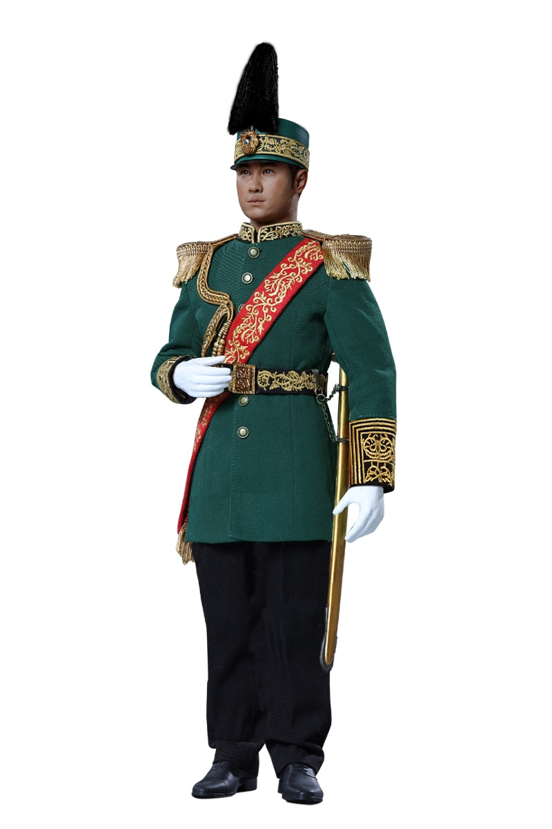 military - NEW PRODUCT: Reading Ancient Hall: 1/6 Half Wall Wolf Smoke - Shaoshuai Moveable Doll - Standard & Deluxe Edition 15181010