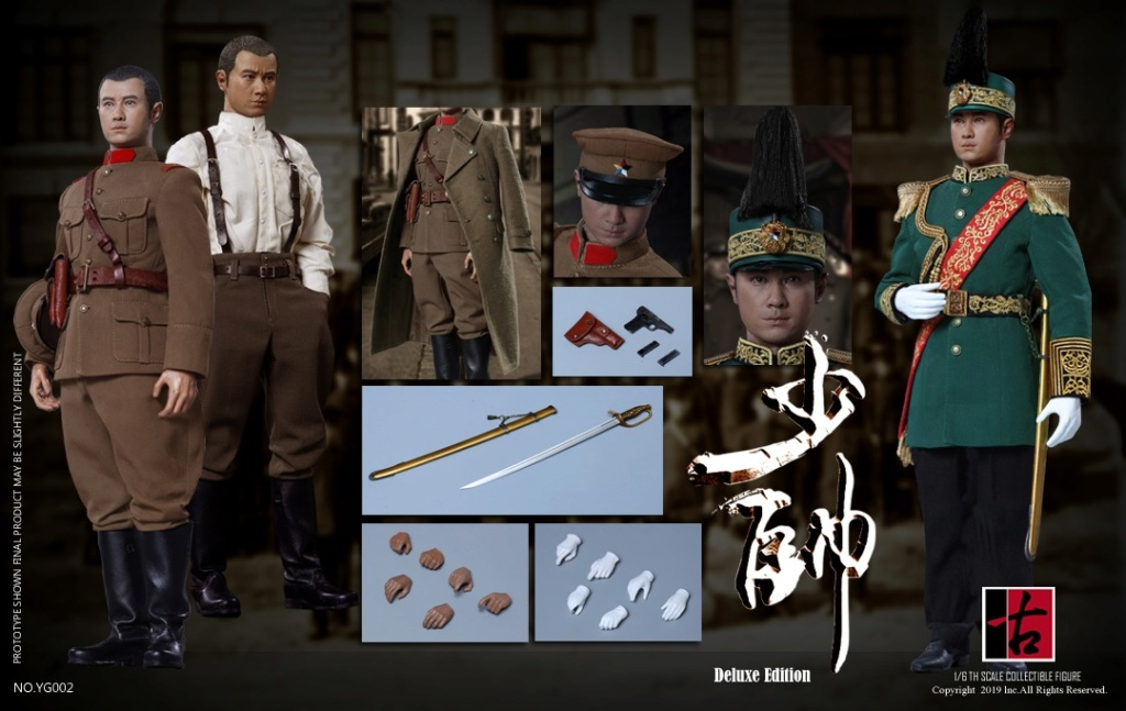 military - NEW PRODUCT: Reading Ancient Hall: 1/6 Half Wall Wolf Smoke - Shaoshuai Moveable Doll - Standard & Deluxe Edition 15181210