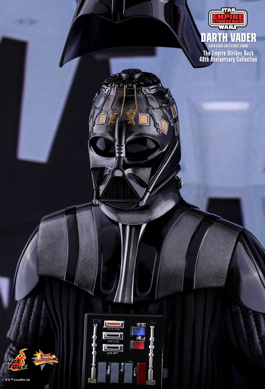 40thAnniversaryCollection - NEW PRODUCT: HOT TOYS: STAR WARS: THE EMPIRE STRIKES BACK™ DARTH VADER™ (40TH ANNIVERSARY COLLECTION) 1/6TH SCALE COLLECTIBLE FIGURE 15182