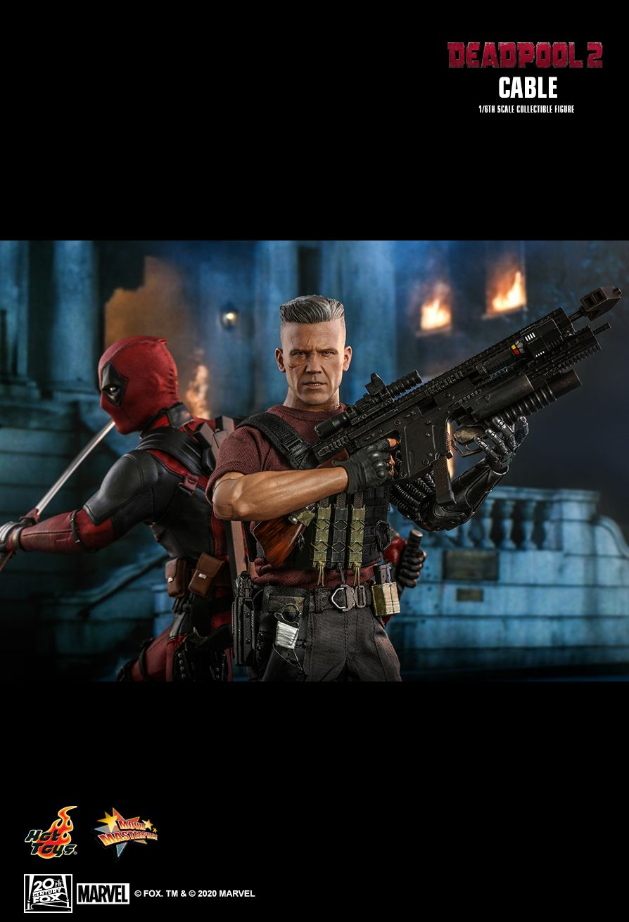 NEW PRODUCT: HOT TOYS: DEADPOOL 2 CABLE 1/6TH SCALE COLLECTIBLE FIGURE 15200
