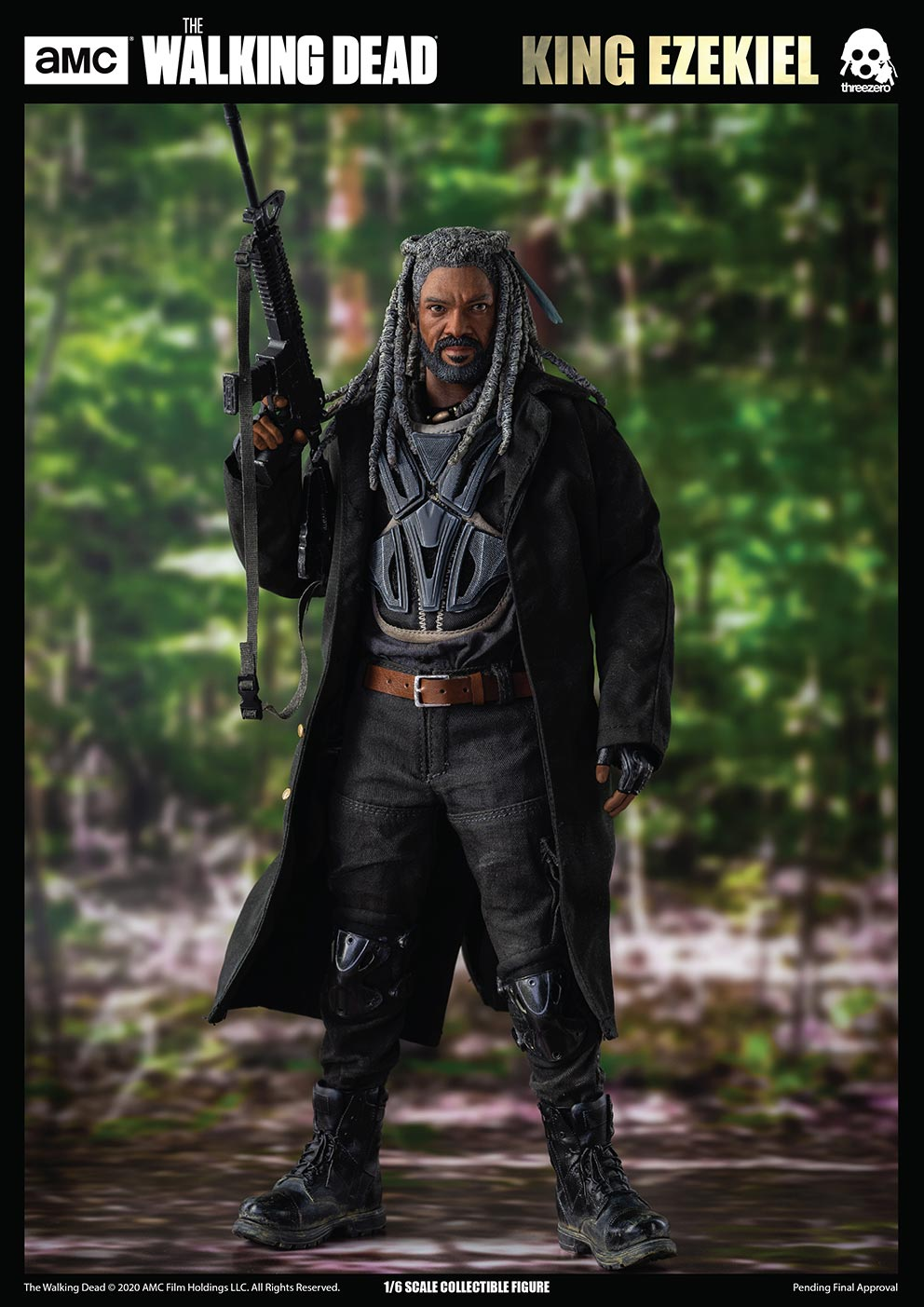 walkingdead - NEW PRODUCT: Threezero: The Walking Dead – 1/6 King Ezekiel 15202