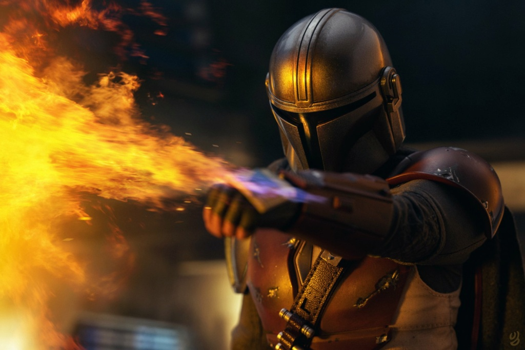 NEW PRODUCT: HOT TOYS: THE MANDALORIAN -- THE MANDALORIAN 1/6TH SCALE COLLECTIBLE FIGURE 15205