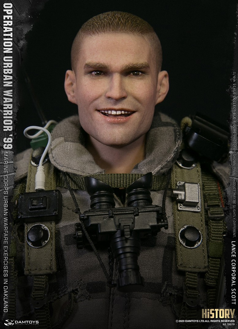 MarineCorps - NEW PRODUCT: DAMToys: 1/6 '99 City Warrior Operation-Marine Corps Oakland City Battle Exercise - Lance Corporal Scott #78079 15208
