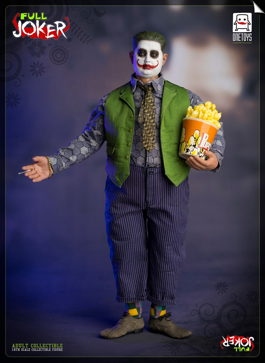 comicbook-based - NEW PRODUCT: One Toys: 1/6 Full Joker articulated figure OT008# 15283111