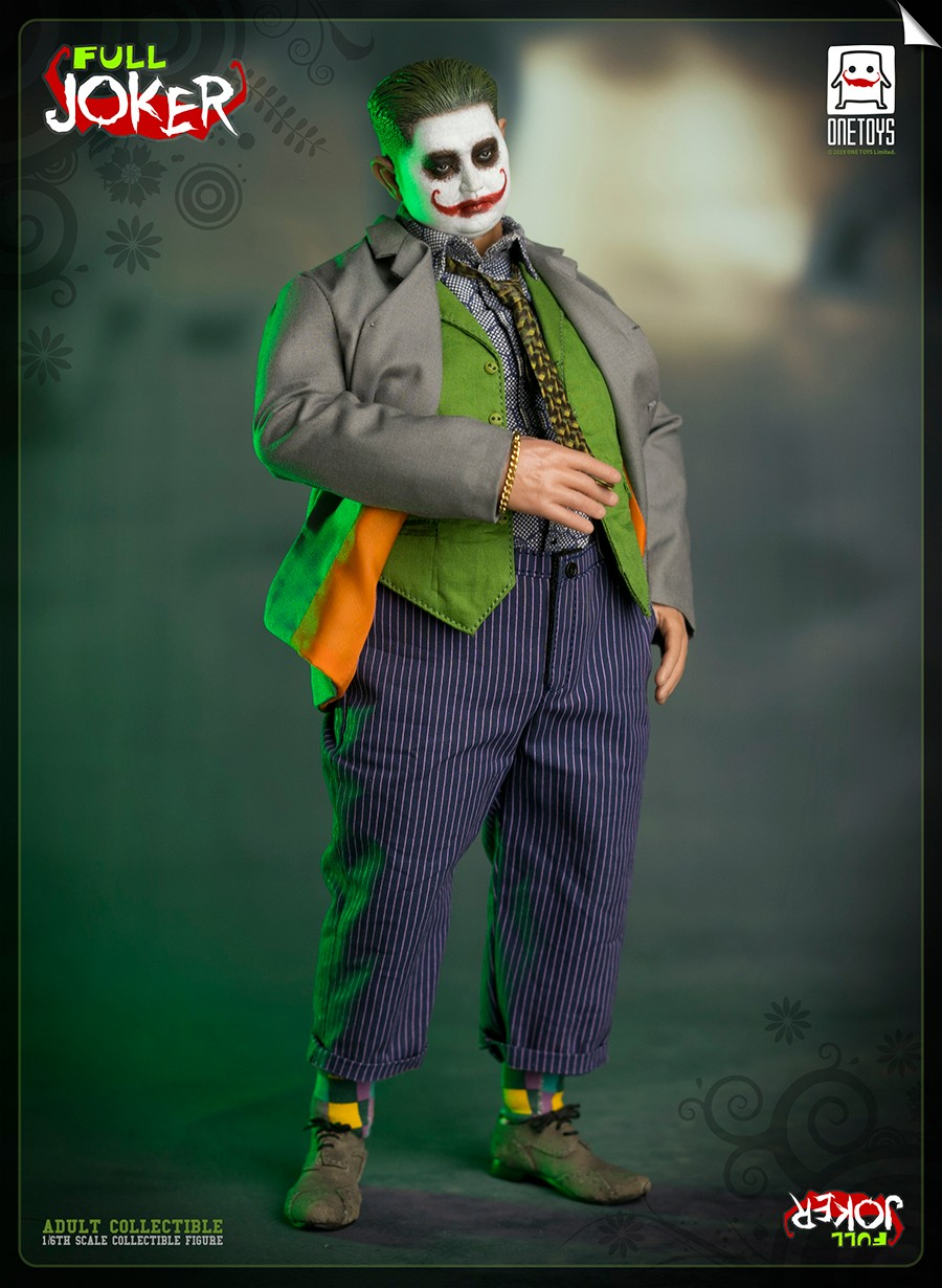 comicbook-based - NEW PRODUCT: One Toys: 1/6 Full Joker articulated figure OT008# 15283511