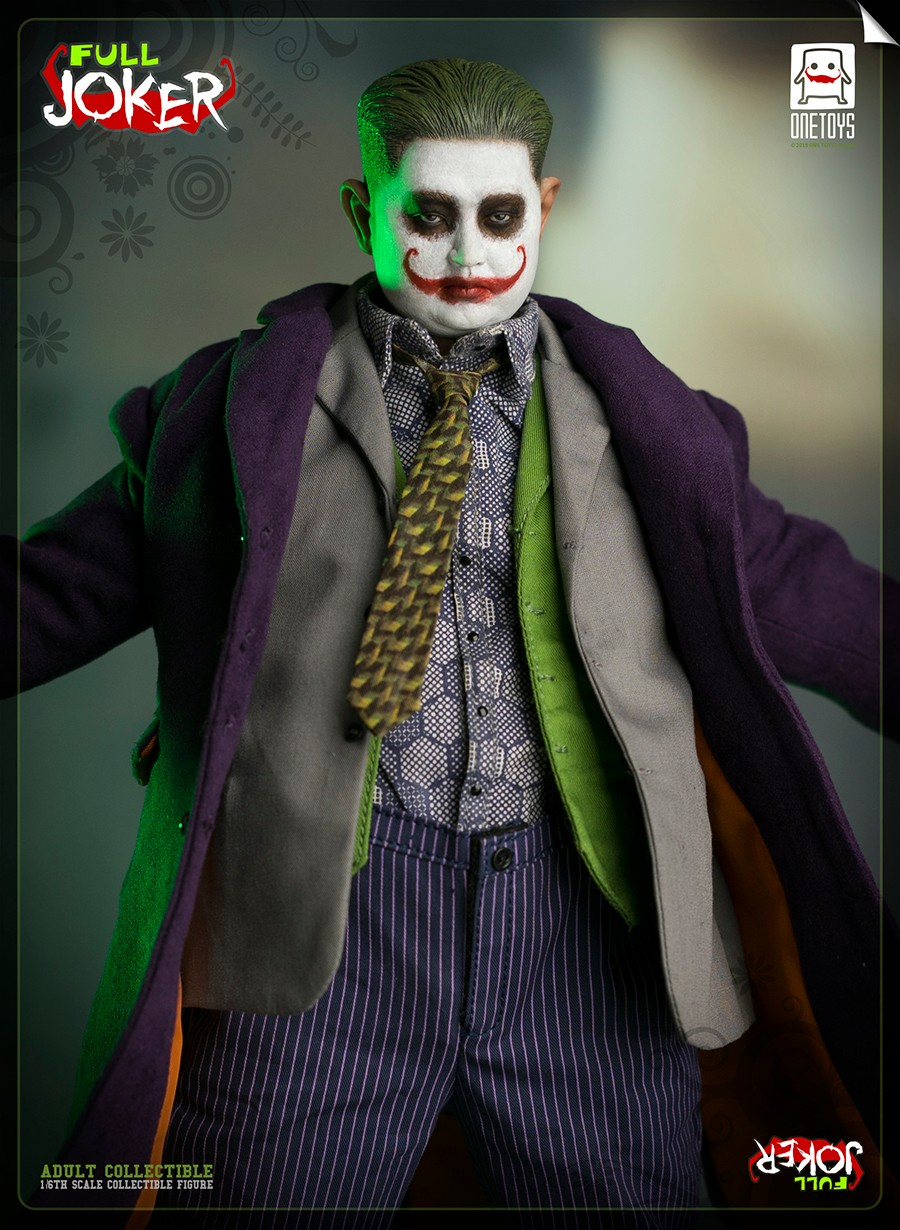 comicbook-based - NEW PRODUCT: One Toys: 1/6 Full Joker articulated figure OT008# 15283611