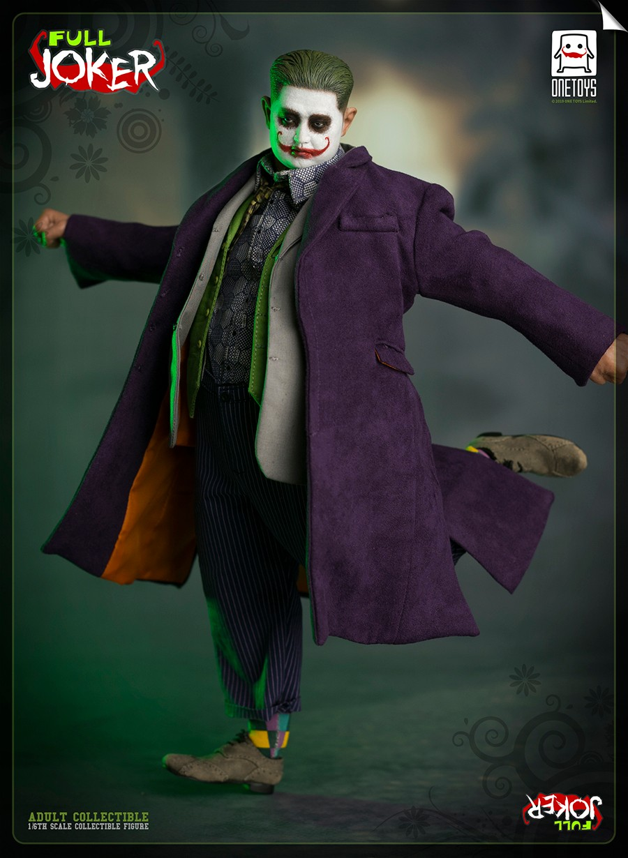 comicbook-based - NEW PRODUCT: One Toys: 1/6 Full Joker articulated figure OT008# 15283710