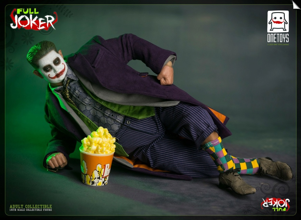 comicbook-based - NEW PRODUCT: One Toys: 1/6 Full Joker articulated figure OT008# 15283810