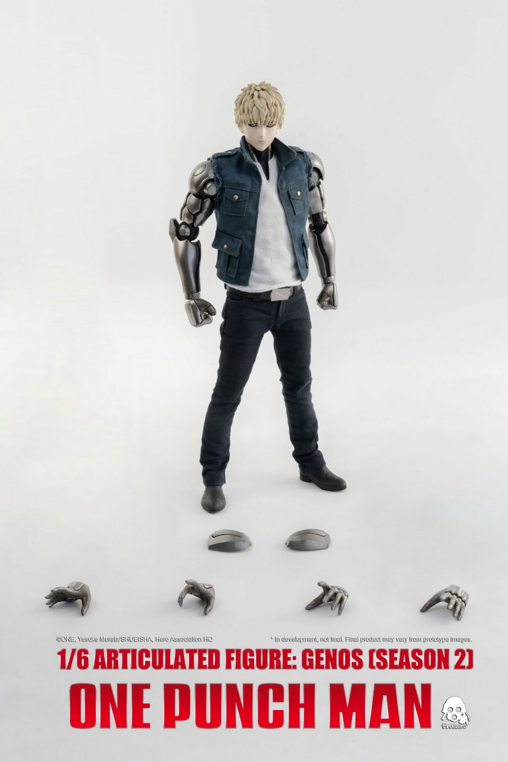 sci-fi - NEW PRODUCT:  ThreeZero: 1/6 Season One Punch-Genos 2.0 Standard & Deluxe Edition 15291410