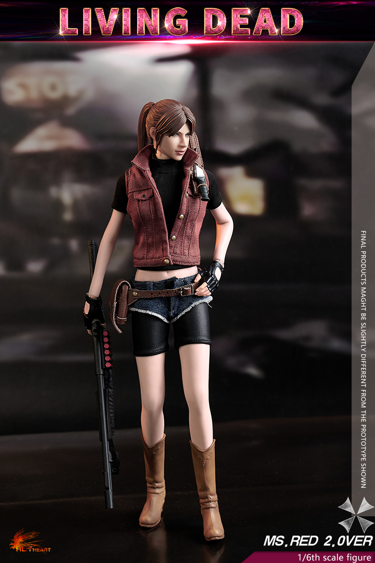 female - NEW PRODUCT: Hot Heart: 1/6 movable doll zombie female killer Ms.Red girl version (FD008) 15330610