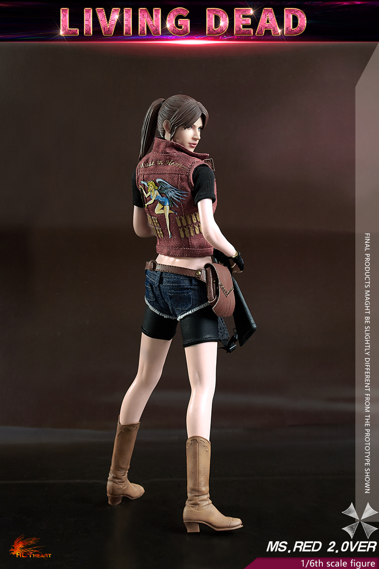 female - NEW PRODUCT: Hot Heart: 1/6 movable doll zombie female killer Ms.Red girl version (FD008) 15331610