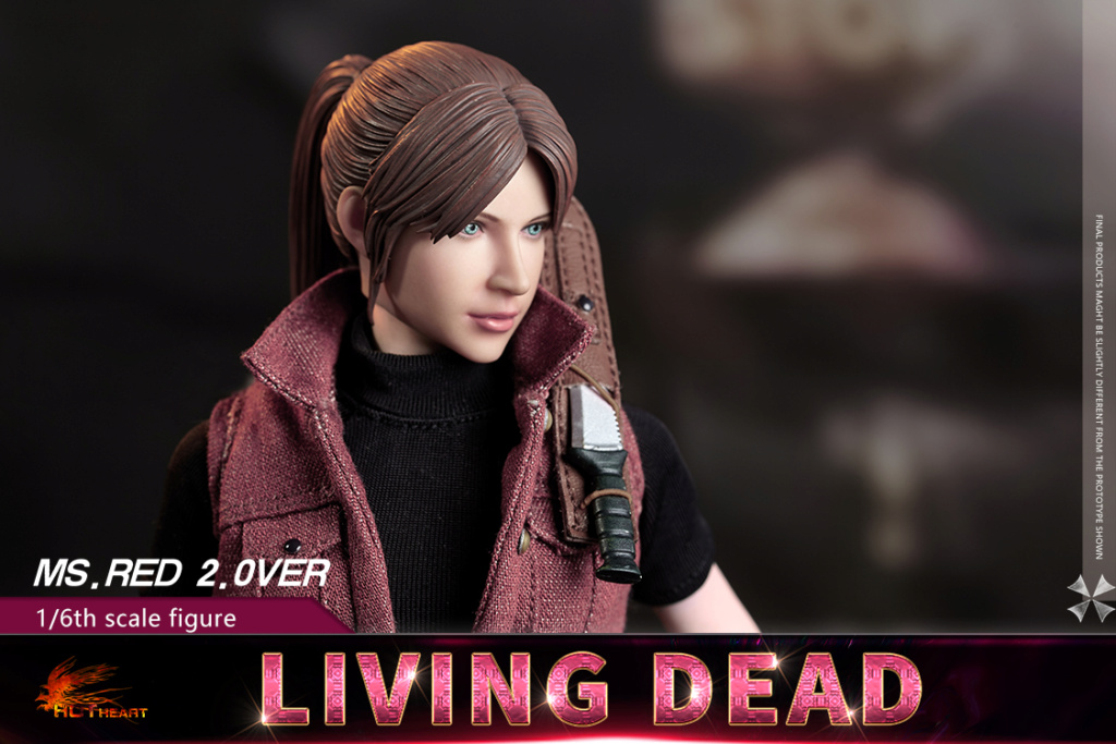 female - NEW PRODUCT: Hot Heart: 1/6 movable doll zombie female killer Ms.Red girl version (FD008) 15334010