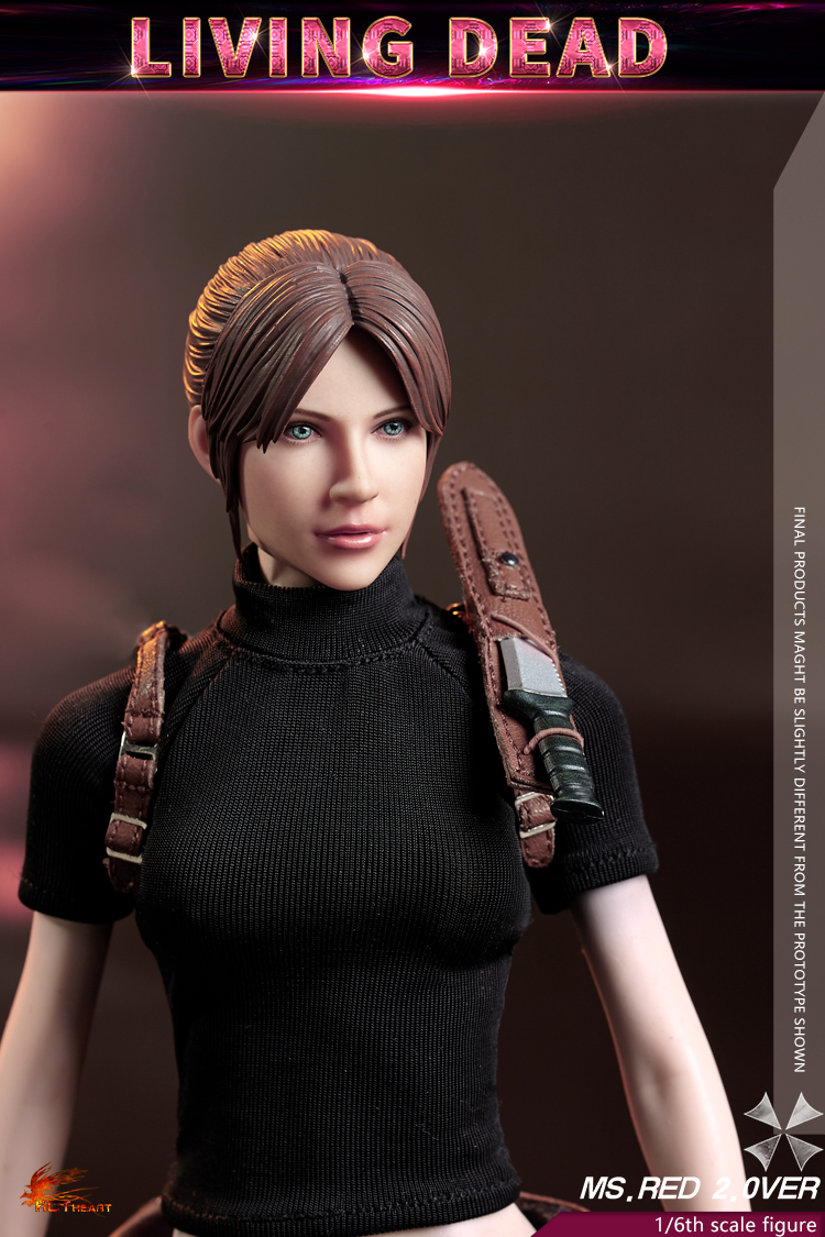 female - NEW PRODUCT: Hot Heart: 1/6 movable doll zombie female killer Ms.Red girl version (FD008) 15341410