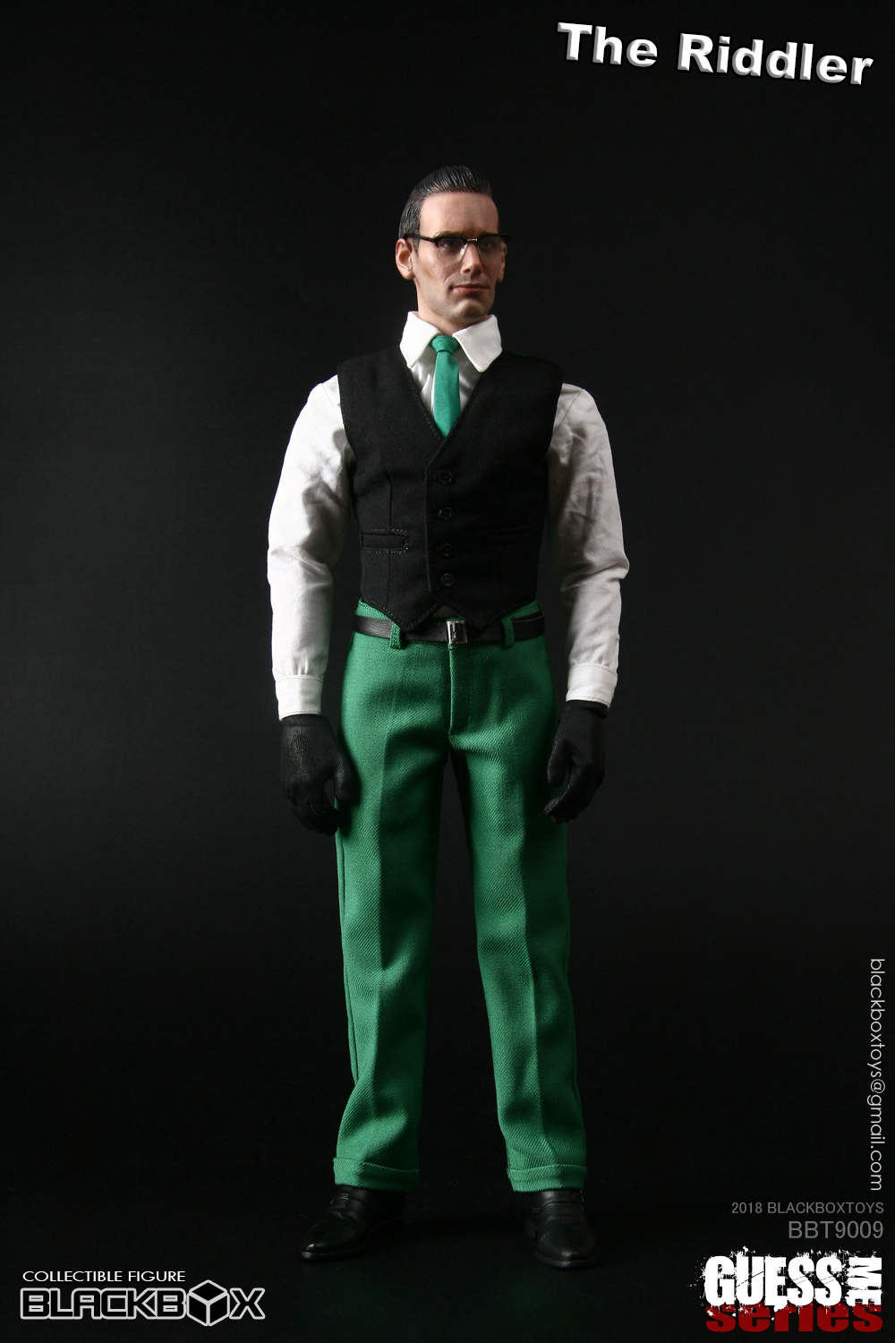 "NEW PRODUCT: BLACKBOX: 1/6 Who am I series 09 - ""Ridden people"" Movable 15374510"