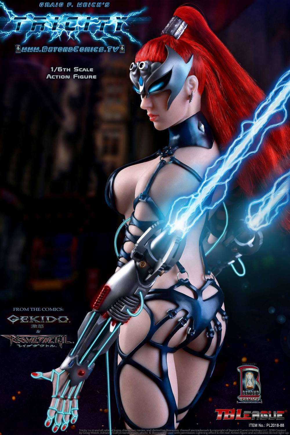 cosplay - NEW PRODUCT: TBLeague new product: 1/6 lightning goddess - Cui Si / TRICITY-Goddess of Lightning (PL2018-88#) 15380210