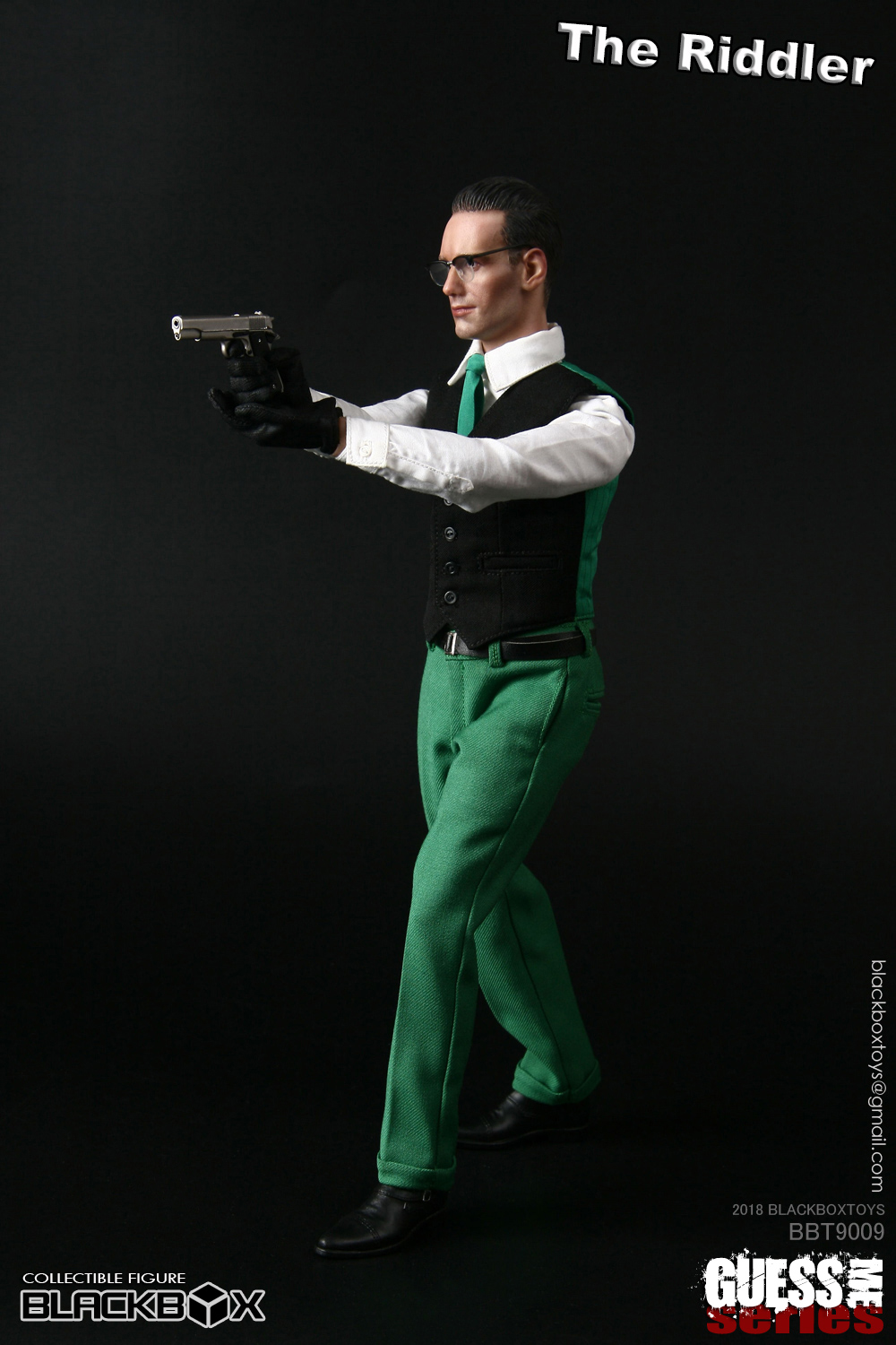 "NEW PRODUCT: BLACKBOX: 1/6 Who am I series 09 - ""Ridden people"" Movable 15380211"