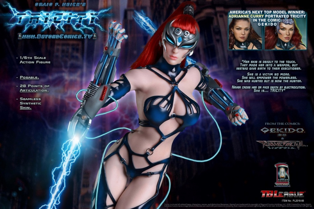 cosplay - NEW PRODUCT: TBLeague new product: 1/6 lightning goddess - Cui Si / TRICITY-Goddess of Lightning (PL2018-88#) 15380310