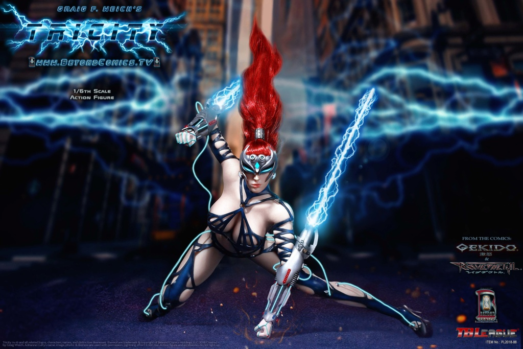 cosplay - NEW PRODUCT: TBLeague new product: 1/6 lightning goddess - Cui Si / TRICITY-Goddess of Lightning (PL2018-88#) 15380710