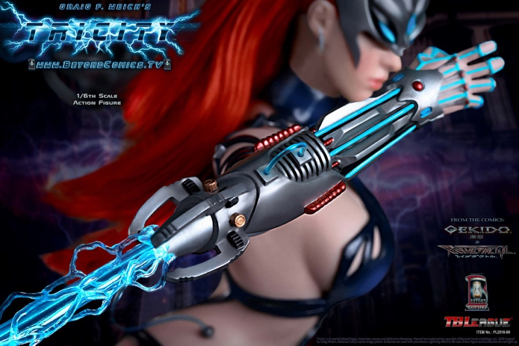 cosplay - NEW PRODUCT: TBLeague new product: 1/6 lightning goddess - Cui Si / TRICITY-Goddess of Lightning (PL2018-88#) 15381311