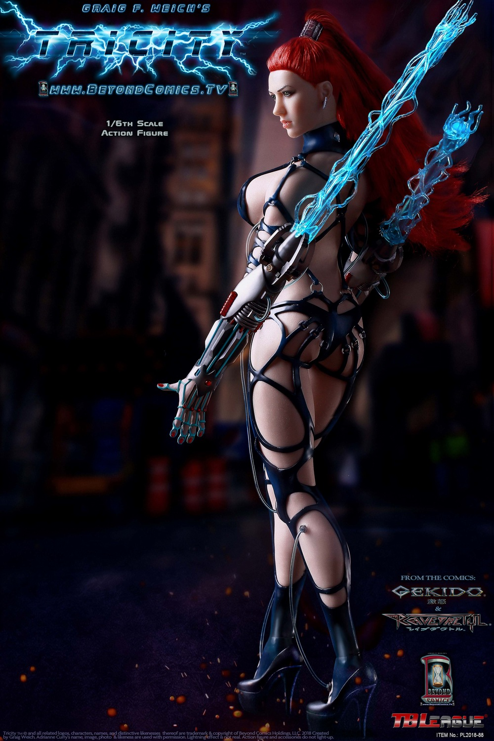 cosplay - NEW PRODUCT: TBLeague new product: 1/6 lightning goddess - Cui Si / TRICITY-Goddess of Lightning (PL2018-88#) 15381410