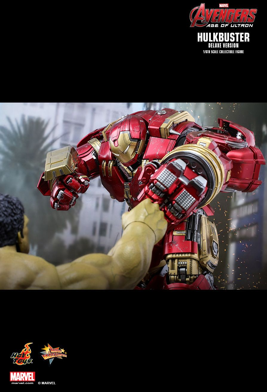 NEW PRODUCT: HOT TOYS: AVENGERS: AGE OF ULTRON HULKBUSTER (DELUXE VERSION) 1/6TH SCALE COLLECTIBLE FIGURE 1539