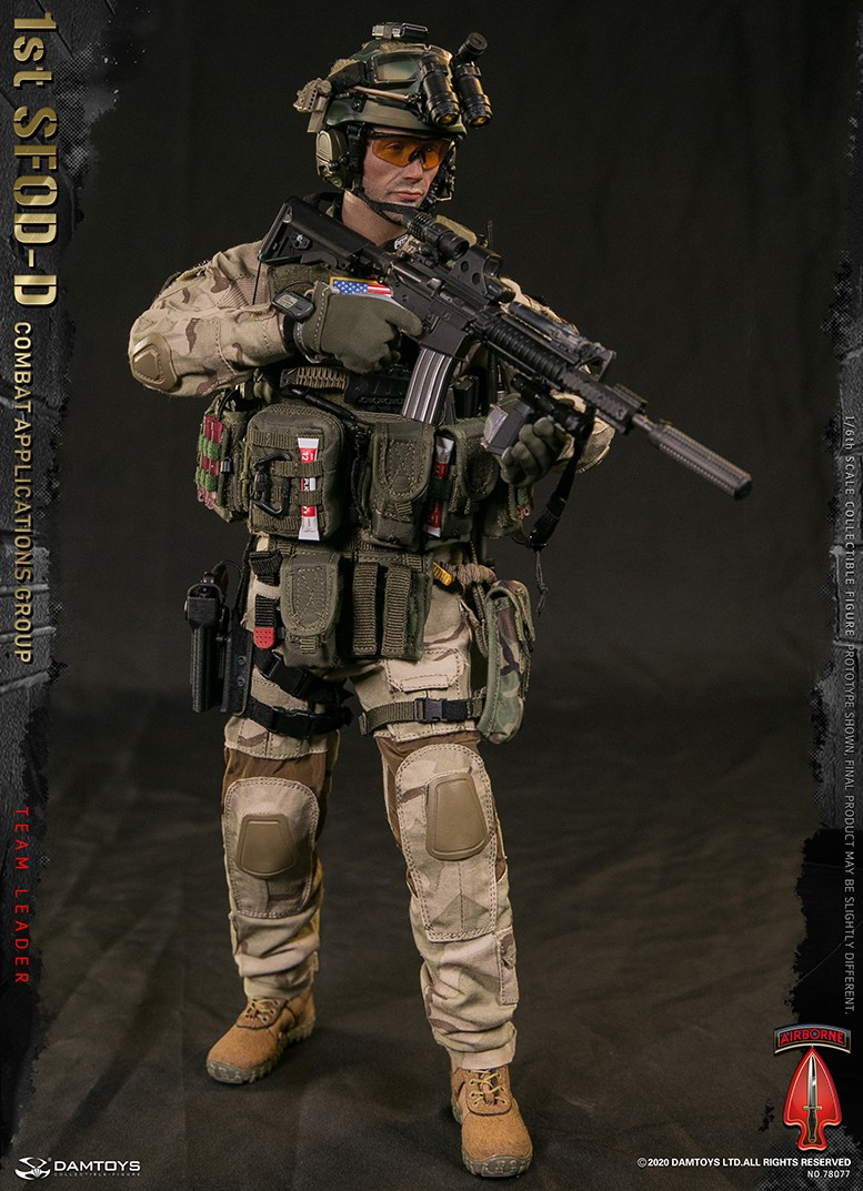 ModernMilitary - NEW PRODUCT: DAMTOYS: 1/6 Delta Special Forces (1st SFOD-D) Captain Action Figure 78077# 15451111