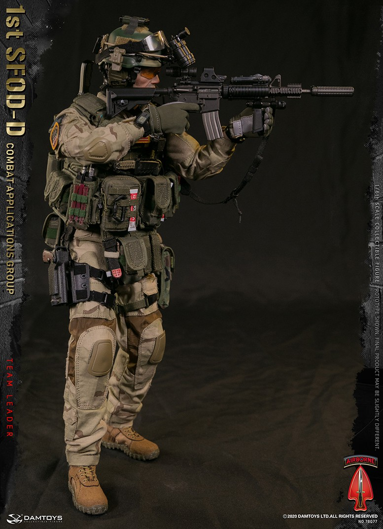 ModernMilitary - NEW PRODUCT: DAMTOYS: 1/6 Delta Special Forces (1st SFOD-D) Captain Action Figure 78077# 15451210