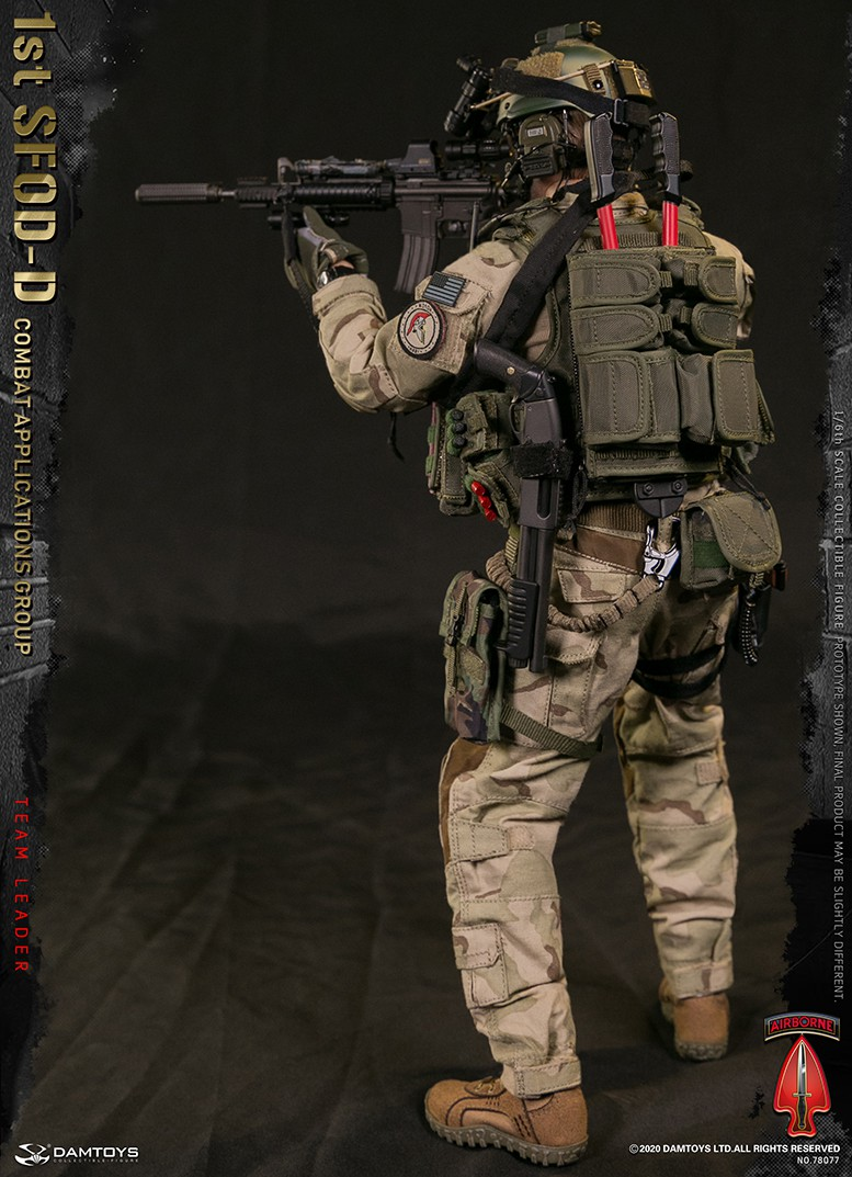 ModernMilitary - NEW PRODUCT: DAMTOYS: 1/6 Delta Special Forces (1st SFOD-D) Captain Action Figure 78077# 15451211