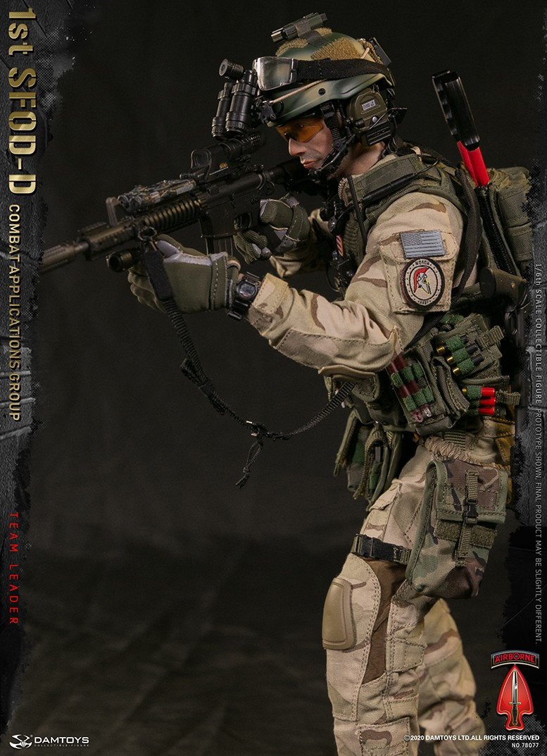ModernMilitary - NEW PRODUCT: DAMTOYS: 1/6 Delta Special Forces (1st SFOD-D) Captain Action Figure 78077# 15451310