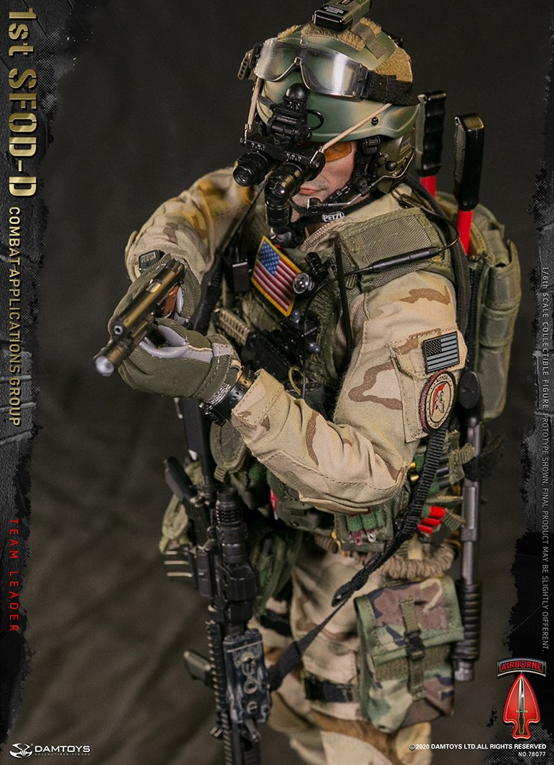 ModernMilitary - NEW PRODUCT: DAMTOYS: 1/6 Delta Special Forces (1st SFOD-D) Captain Action Figure 78077# 15451712
