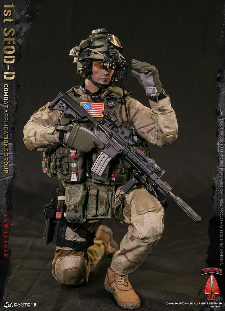 ModernMilitary - NEW PRODUCT: DAMTOYS: 1/6 Delta Special Forces (1st SFOD-D) Captain Action Figure 78077# 15451713