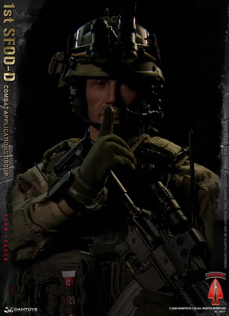 ModernMilitary - NEW PRODUCT: DAMTOYS: 1/6 Delta Special Forces (1st SFOD-D) Captain Action Figure 78077# 15451812