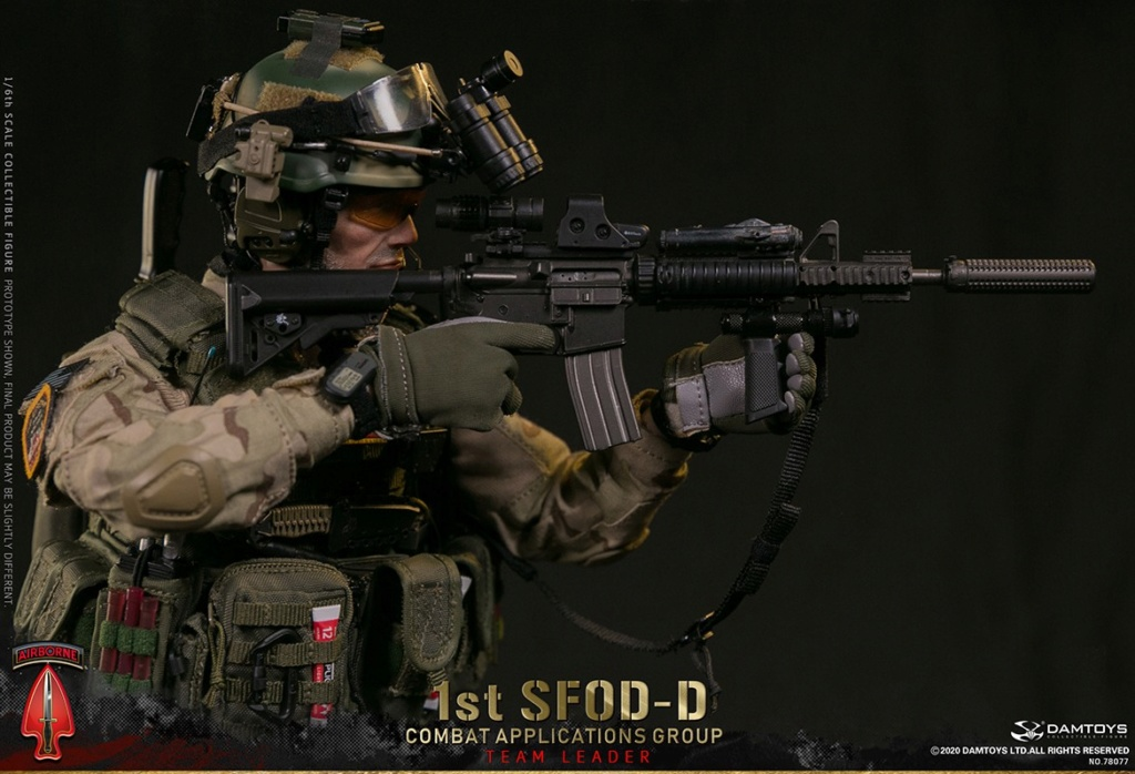 ModernMilitary - NEW PRODUCT: DAMTOYS: 1/6 Delta Special Forces (1st SFOD-D) Captain Action Figure 78077# 15451813
