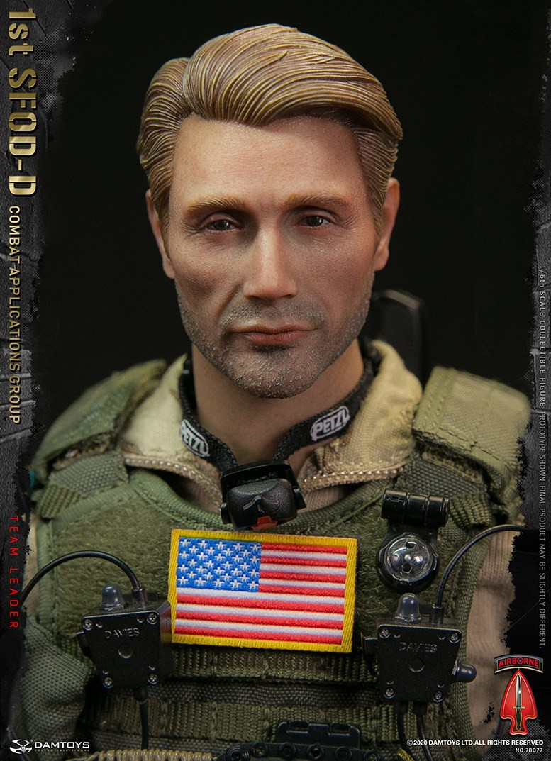 ModernMilitary - NEW PRODUCT: DAMTOYS: 1/6 Delta Special Forces (1st SFOD-D) Captain Action Figure 78077# 15452012