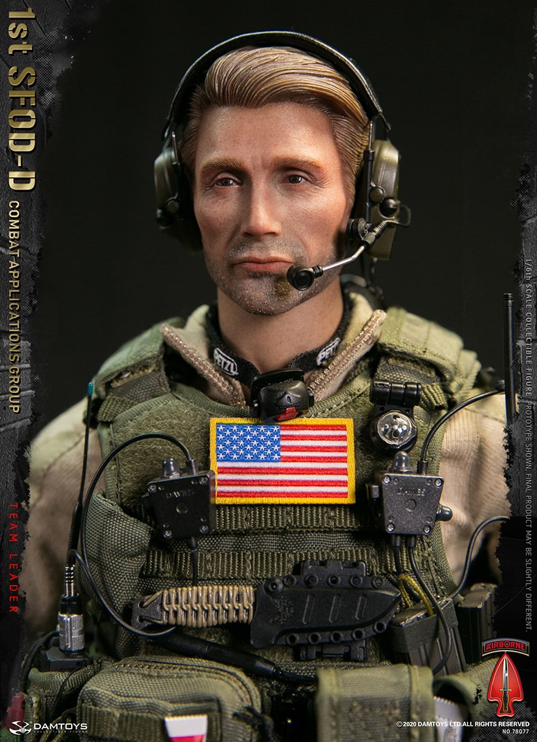 ModernMilitary - NEW PRODUCT: DAMTOYS: 1/6 Delta Special Forces (1st SFOD-D) Captain Action Figure 78077# 15452013