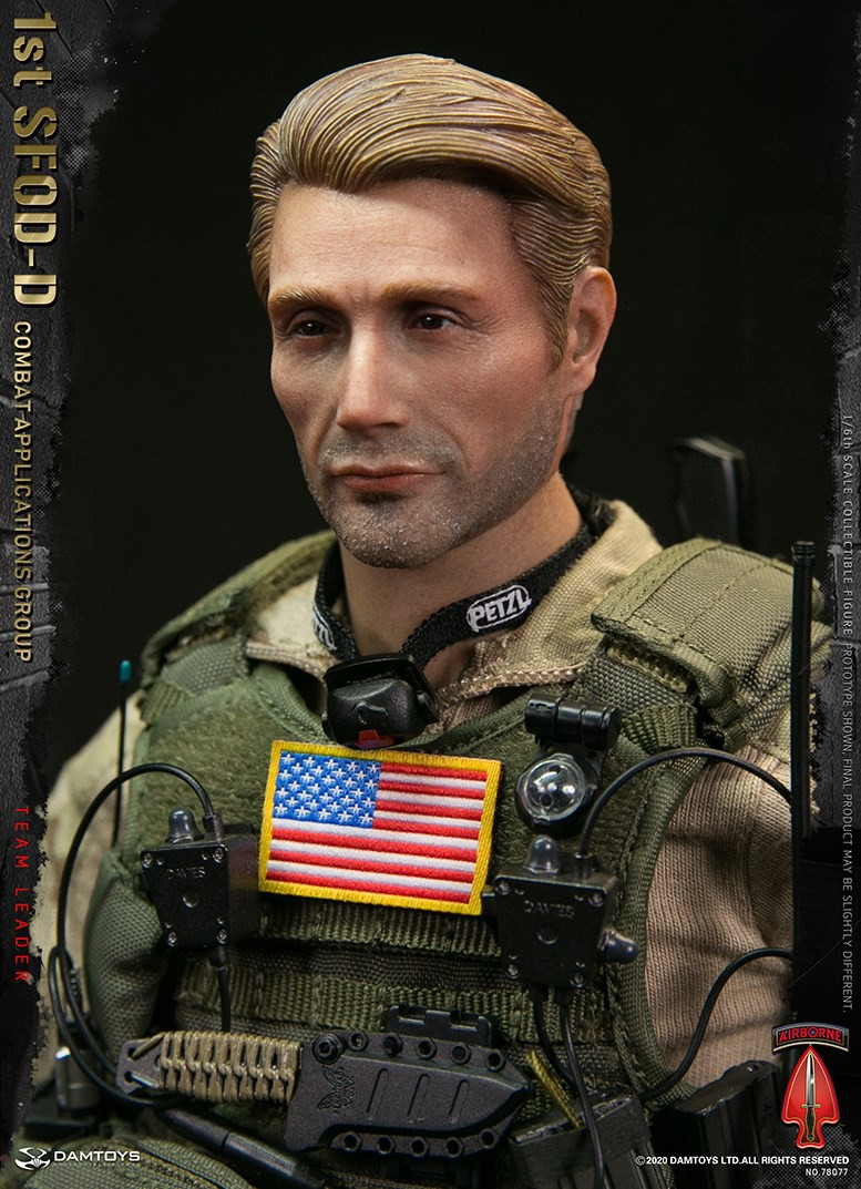 ModernMilitary - NEW PRODUCT: DAMTOYS: 1/6 Delta Special Forces (1st SFOD-D) Captain Action Figure 78077# 15452113