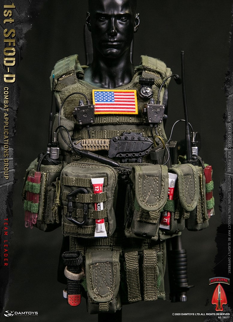 ModernMilitary - NEW PRODUCT: DAMTOYS: 1/6 Delta Special Forces (1st SFOD-D) Captain Action Figure 78077# 15452212