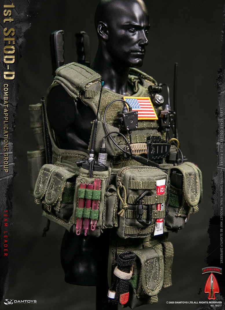 ModernMilitary - NEW PRODUCT: DAMTOYS: 1/6 Delta Special Forces (1st SFOD-D) Captain Action Figure 78077# 15452312