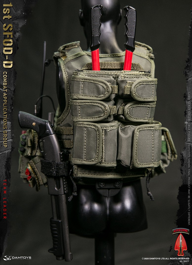 ModernMilitary - NEW PRODUCT: DAMTOYS: 1/6 Delta Special Forces (1st SFOD-D) Captain Action Figure 78077# 15452313
