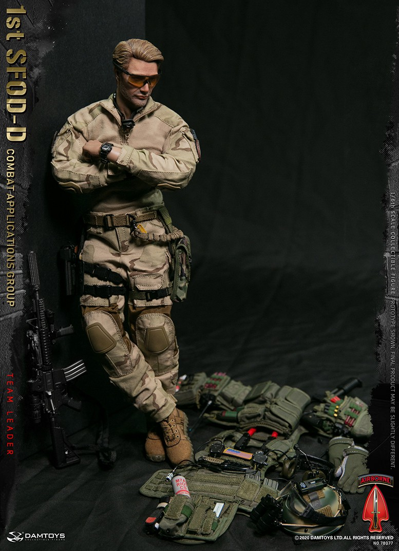 ModernMilitary - NEW PRODUCT: DAMTOYS: 1/6 Delta Special Forces (1st SFOD-D) Captain Action Figure 78077# 15452514