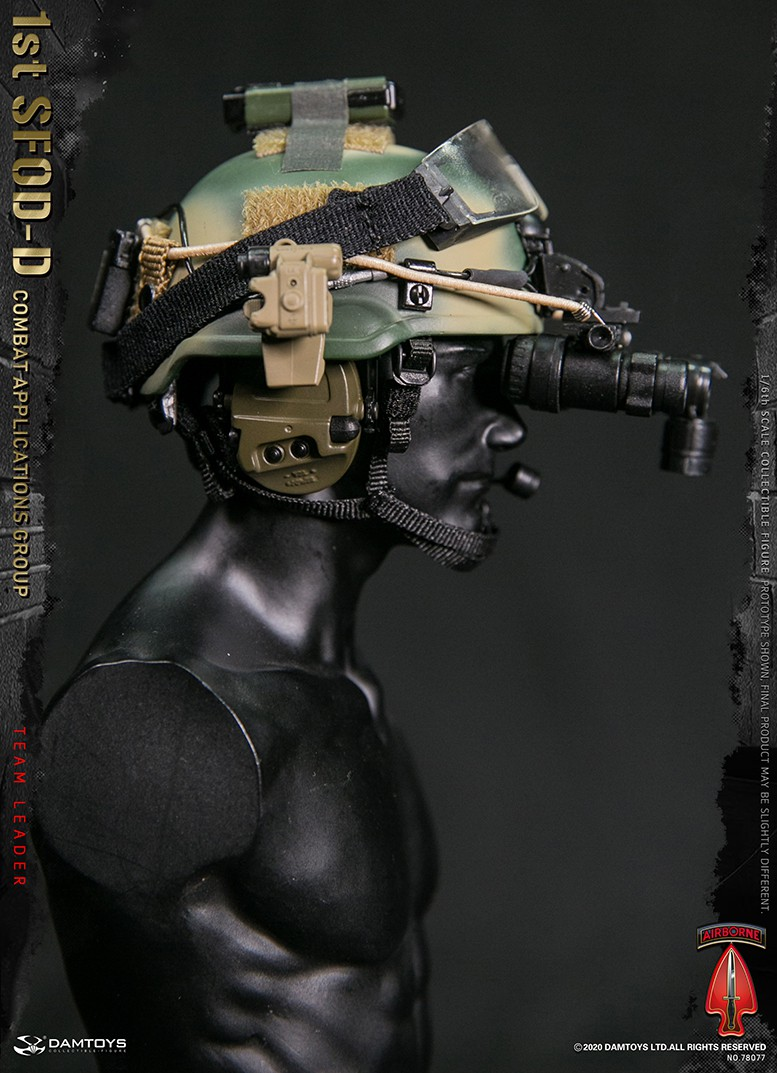 ModernMilitary - NEW PRODUCT: DAMTOYS: 1/6 Delta Special Forces (1st SFOD-D) Captain Action Figure 78077# 15452610