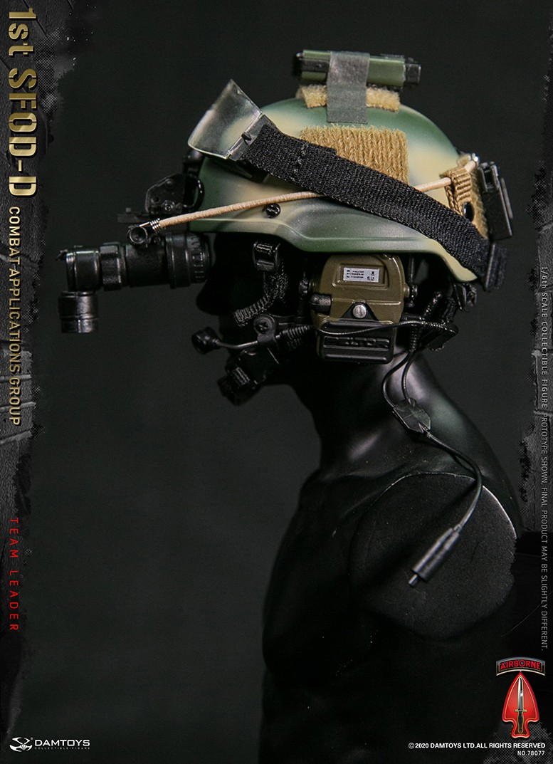 ModernMilitary - NEW PRODUCT: DAMTOYS: 1/6 Delta Special Forces (1st SFOD-D) Captain Action Figure 78077# 15452710